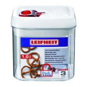 LEIFHEIT Dóza na potraviny FRESH & EASY hranatá 1,0 l LEIFHEIT 31209