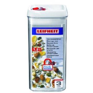 LEIFHEIT Dóza na potraviny FRESH & EASY hranatá 1,2 l LEIFHEIT 31210
