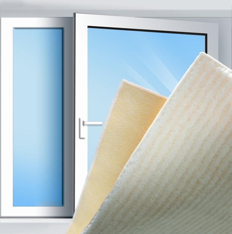 LEIFHEIT Hadřík na okna DUO MICROFIBRE LEIFHEIT 40002
