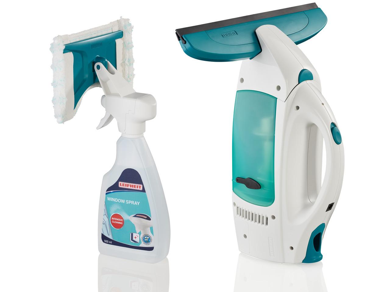 LEIFHEIT Vysavač na okna Window Cleaner a mop na okna Micro Duo s čističem na sklo LEIFHEIT 51021