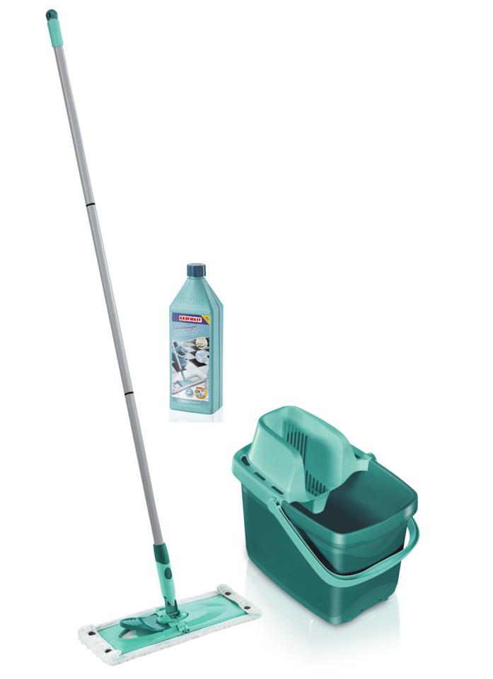 LEIFHEIT Úklidová sada COMBI Clean M a koncentrovaný čistič na podlahy s leštidlem 1 l LEIFHEIT 55370