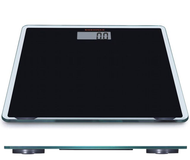 Soehnle Osobní váha GLD SLIM DESIGN BLACK – digitální SOEHNLE 63559