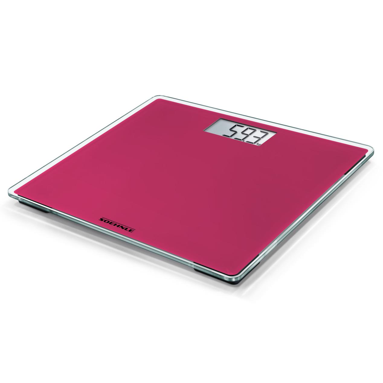 Soehnle Style Sense Compact 200 Think Pink osobní váha - digitální SOEHNLE 63876