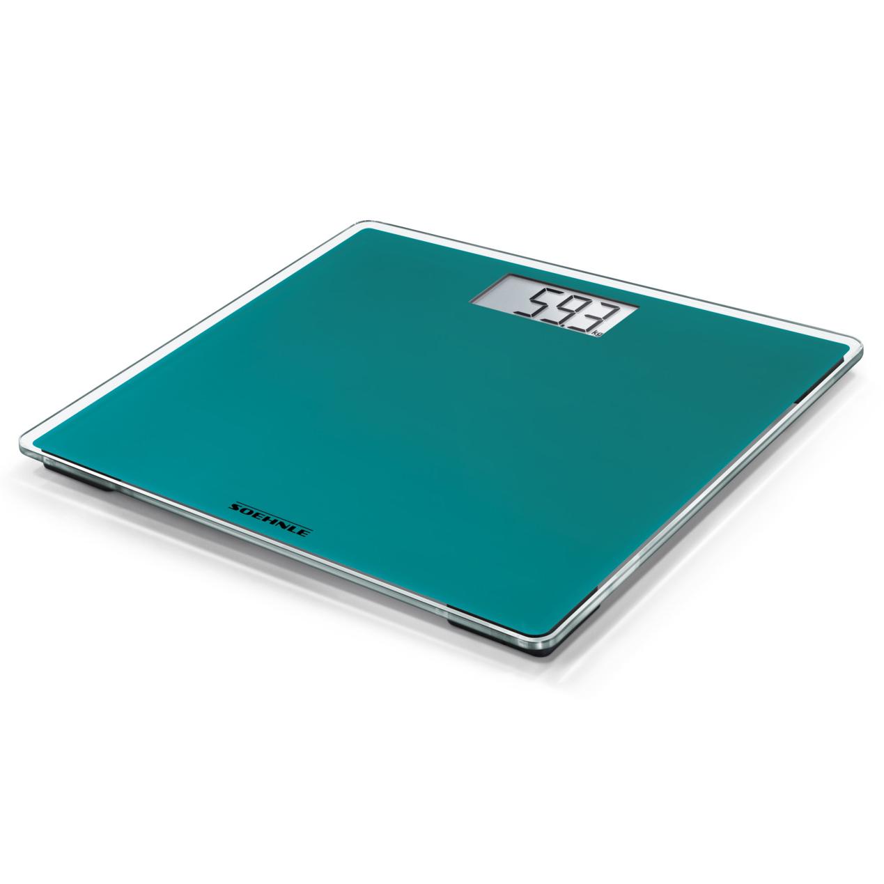 Soehnle Style Sense Compact 200 Ocean Green osobní váha - digitální SOEHNLE 63877