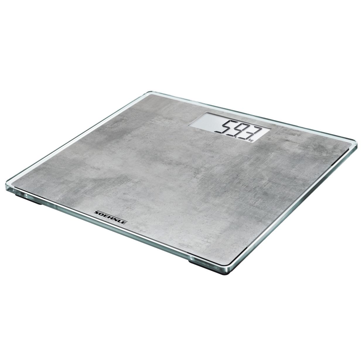 Soehnle Style Sense Compact 300 Concrete osobní váha - digitální SOEHNLE 63882