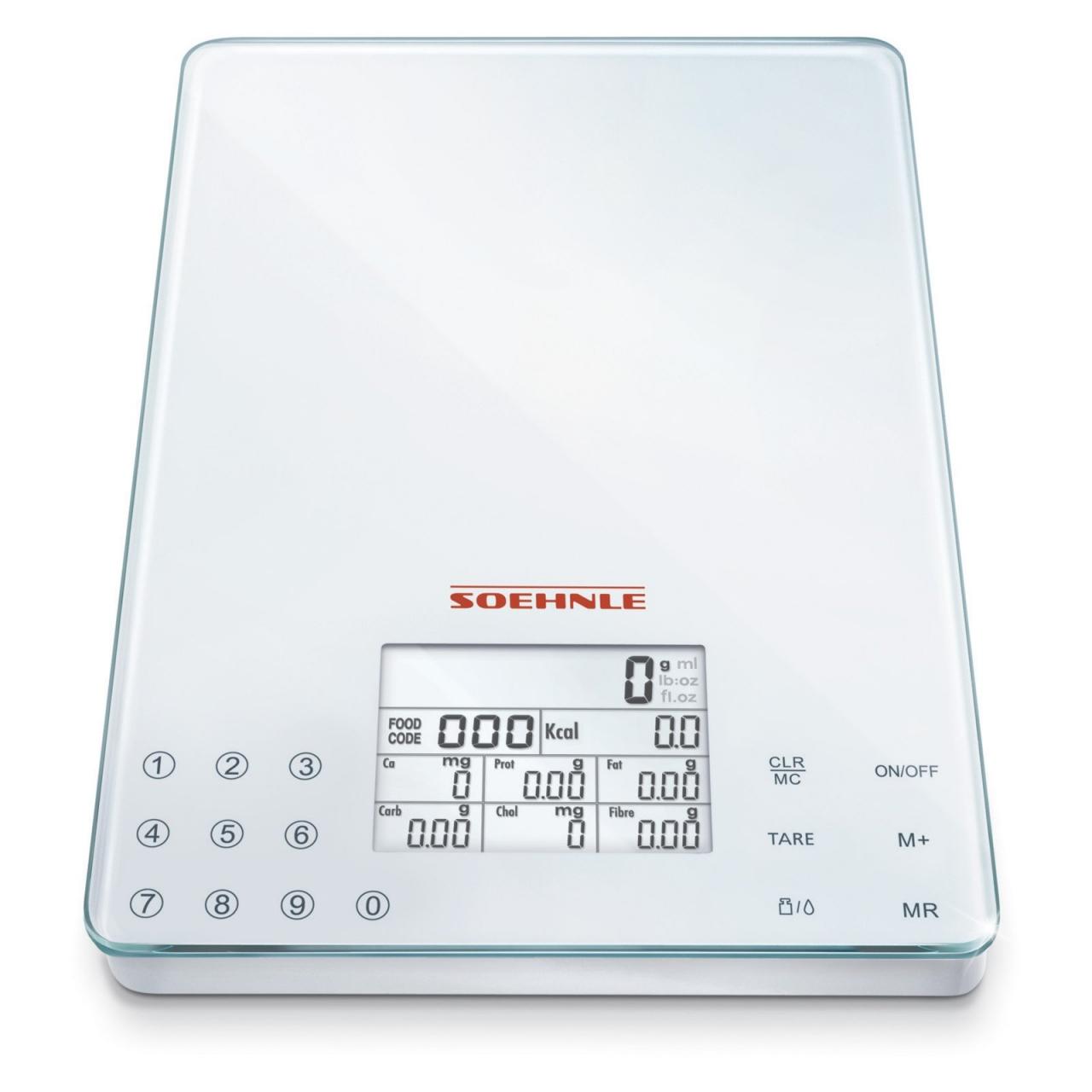 Soehnle Nutriční kuchyňská váha FOOD CONTROL EASY – digitální SOEHNLE 66130