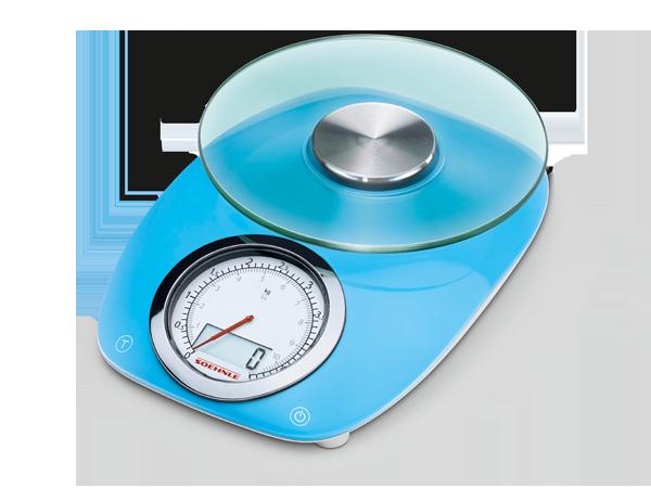 Soehnle Kuchyňská váha VINTAGE Style Blue - digitální / analogová SOEHNLE 66230