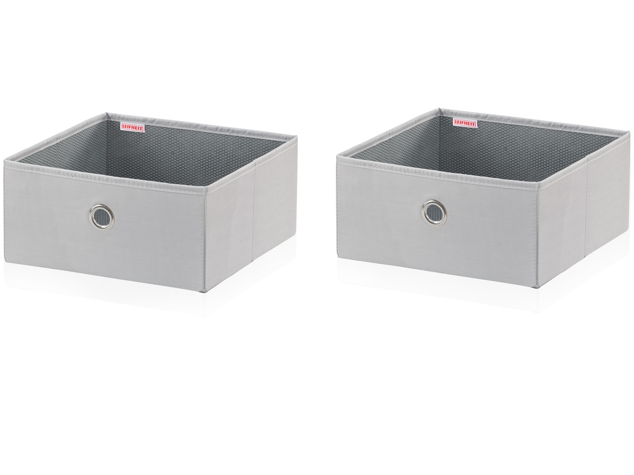 LEIFHEIT Malý box, 2 ks – grey LEIFHEIT 80008