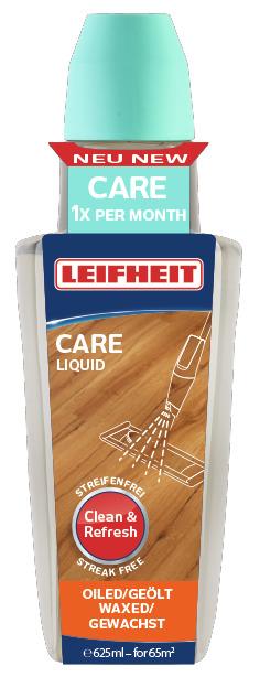 LEIFHEIT Prostředek CARE k péči o dřevěné olejované či voskované podlahy 625 ml LEIFHEIT 56502