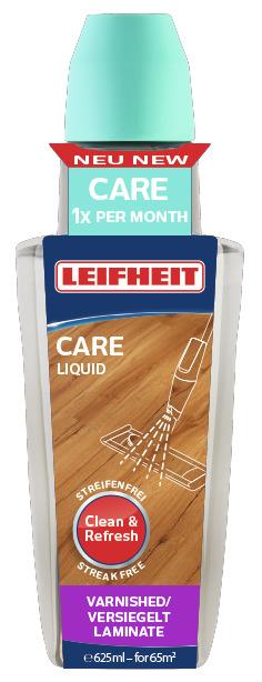 LEIFHEIT Prostředek CARE k péči o plovoucí dřevěné i laminátové podlahy 625 ml LEIFHEIT 56501