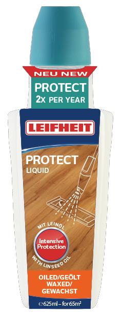 LEIFHEIT Prostředek PROTECT k péči o dřevěné olejované či voskované podlahy 625 ml LEIFHEIT 56504