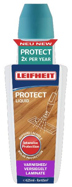 LEIFHEIT Prostředek PROTECT k péči o plovoucí dřevěné i laminátové podlahy 625 ml LEIFHEIT 56503